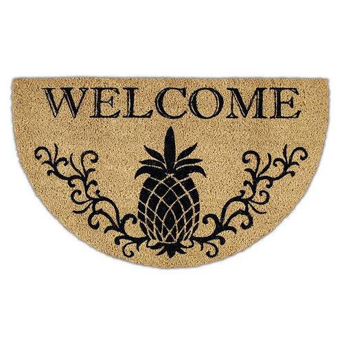 Pineapple Welcome Outdoor Door Mat