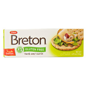 Breton Herb & Garlic Gluten Free Crackers