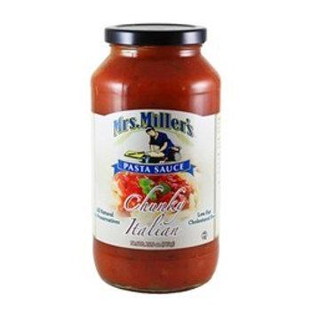 Mrs. Miller's Chunky Italian Pasta Sauce