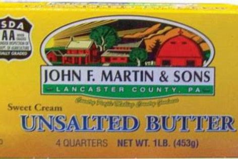 John F Martin Unsalted Butter