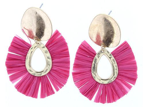 Jane Marie Pink/Gold Earring