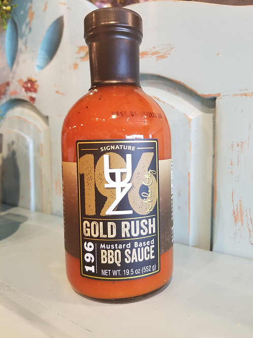 UTZ 196 Gold Rush BBQ Sauce