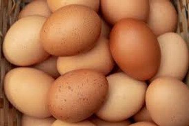 Farm Fresh Medium Brown Eggs 1 Dozen
