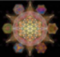flower of life platonic solids metatrons