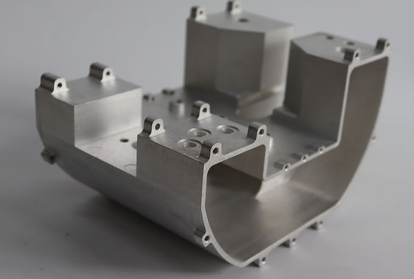 Presstøpt aluminiums komponent etterbear