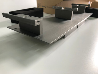 CNC machined aluminum