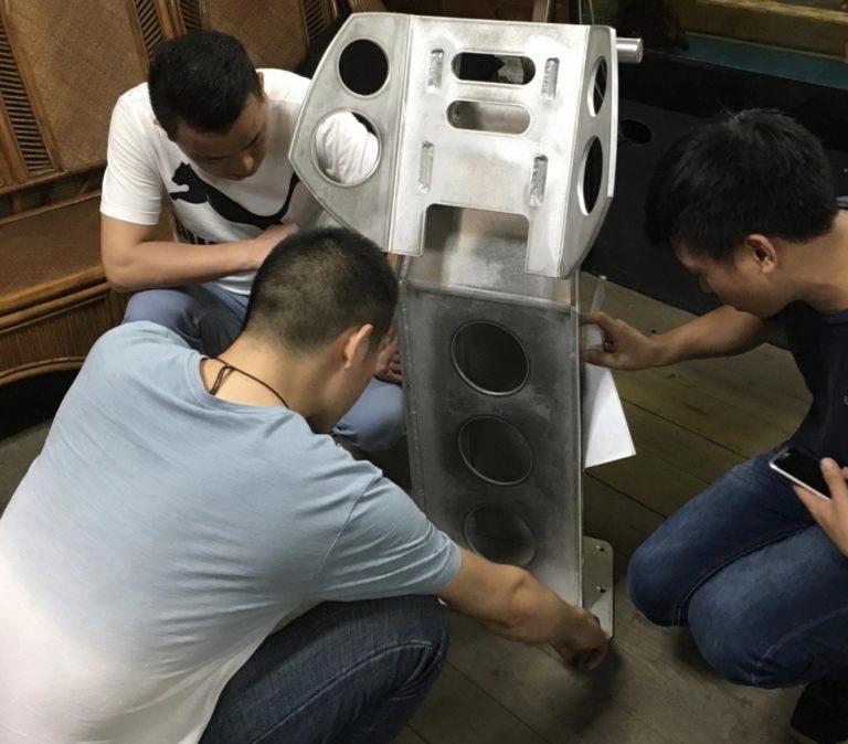 NewTracks kvalitetssikrer produksjon i Kina