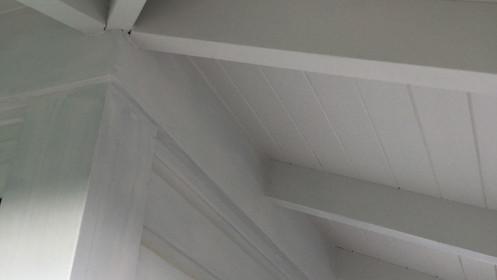 White timber/wood detailing - Hamptons