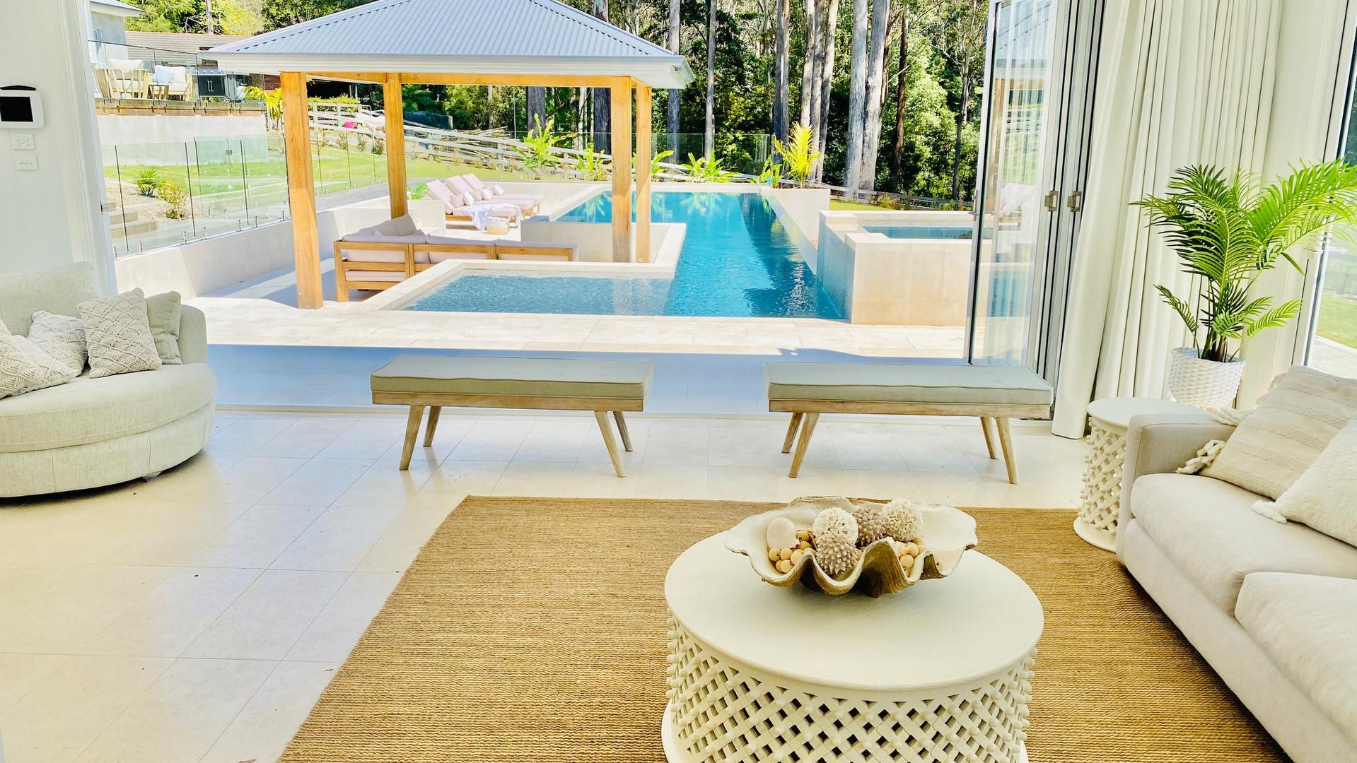 MacMasters Beach - Coastal style pool cabana