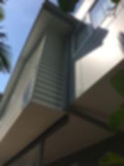 Steel architecture, modern beach home, c