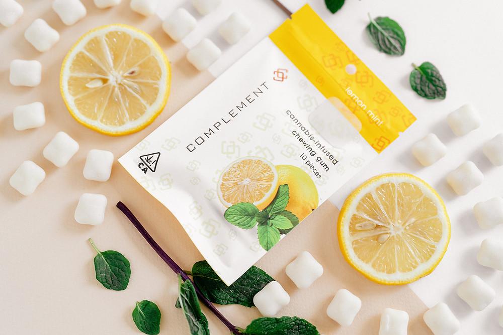 Complement Cannabis Canna (THC) gum in Lemon Mint