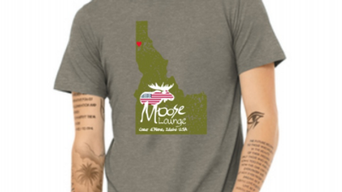 Heather Stone Idaho Logo T-Shirt
