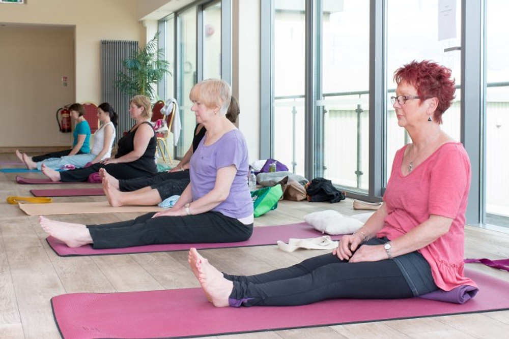 Yoga at the Acanthus Golf Centre