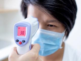Informações técnicas sobre termômetro infravermelho