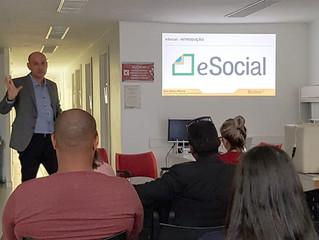 Palestra: Os impactos do eSocial nas rotinas de segurança e saúde do trabalho