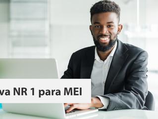 A nova NR 1 para o Microempreendedor Individual - MEI