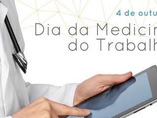 4 de outubro: Dia da Medicina do Trabalho