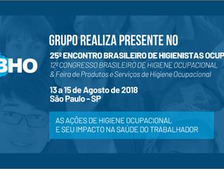 Grupo Realiza presente no 12º Congresso Brasileiro de Higiene Ocupacional e o 25º Encontro Brasileir