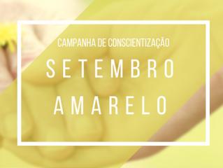 Setembro Amarelo – Mês da prevenção do suicídio