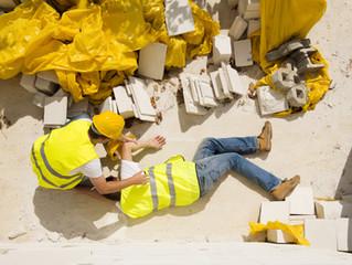 2015: país teve 613 mil acidentes de trabalho
