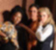 Cynthia Erivo, Ana Mateo and Natasha Barnes