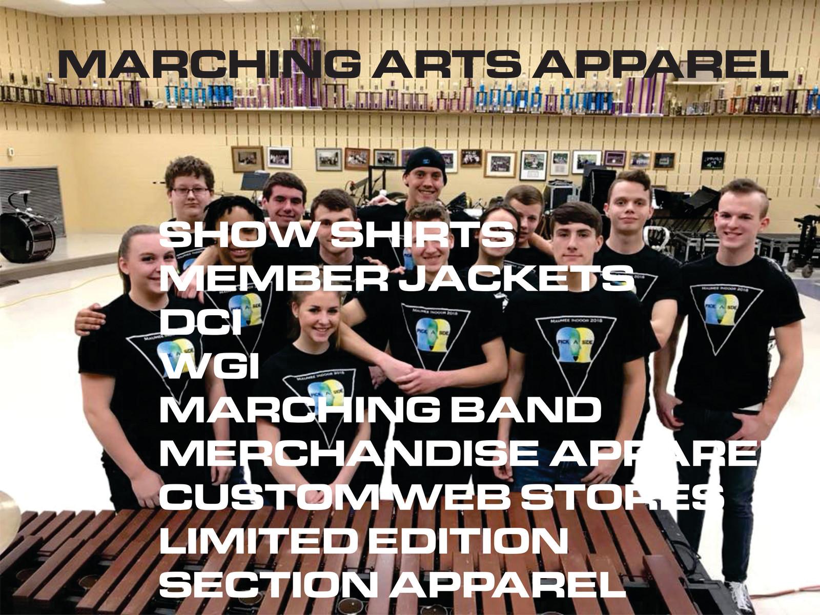 Custom Marching Band Shirts - DREAMWORKS