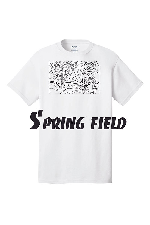 Color By Number. Spring field Design