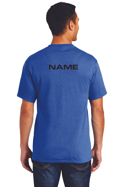Band T shirt with name
