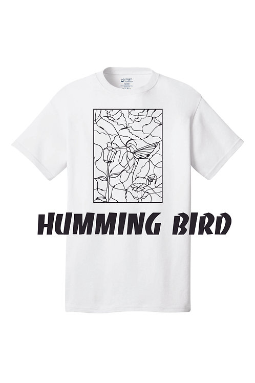 Color by Number. Humming Bird Design