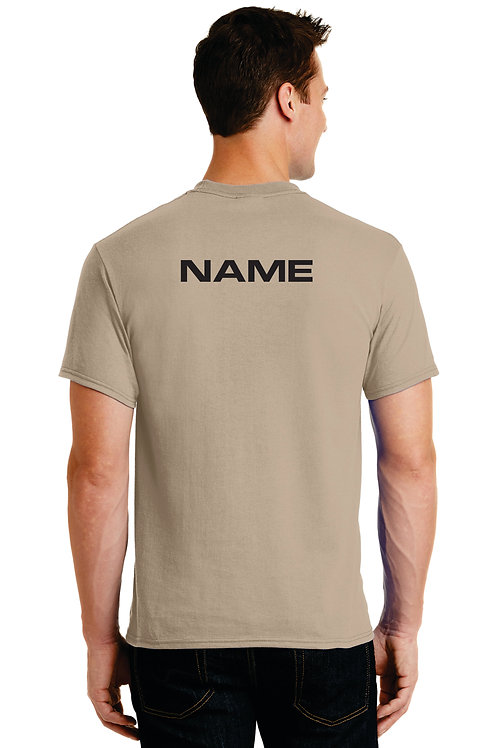 Akins Percussion T shirt with name