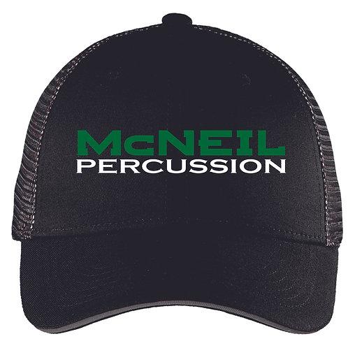 McNeil Percussion Mesh back hat