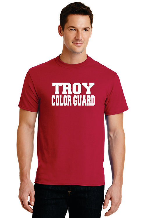 Troy Guard supporter T shirt W/Name