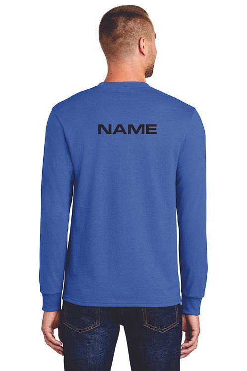 RMS Band UNISEX long sleeve with name