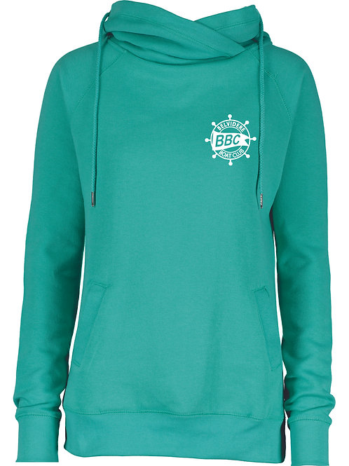 BBC 2 Sided Funnel Neck hoodie