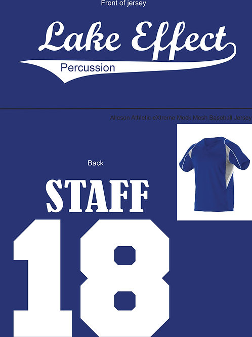 Lake Effect Jersey, Staff