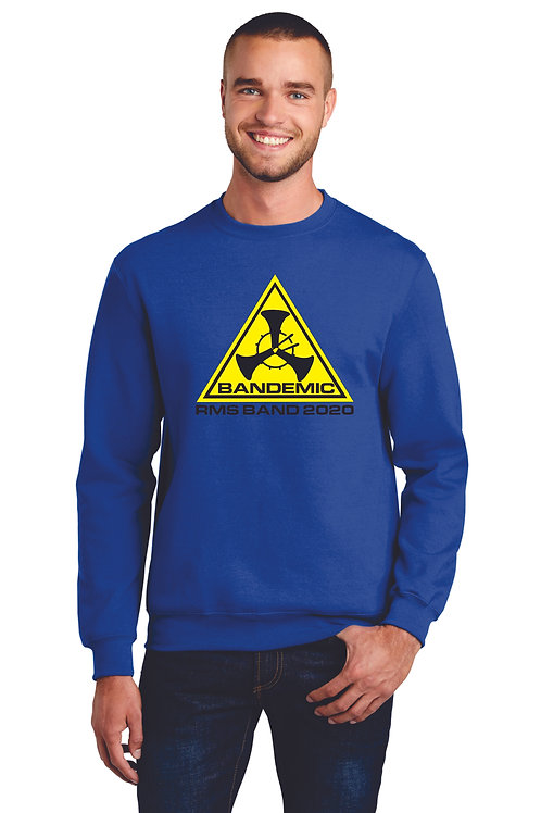 RMS Band Unisex crew neck sweatshirt