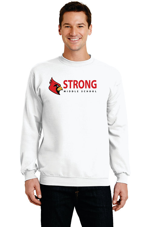Strong Middle School Crew Neck Sweatshirt