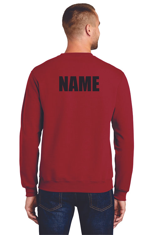 Cousion Drumline Crew Neck with name