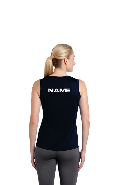 Akins Womans Tank Top with Name