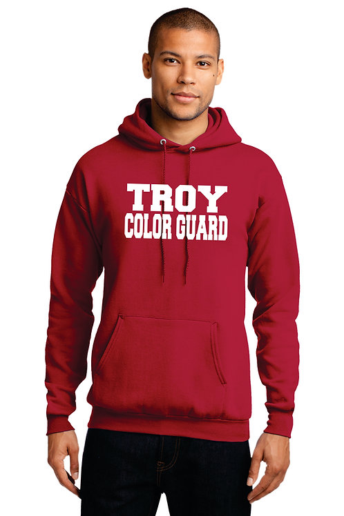 Troy Guard Supporter Hoodie W/Name
