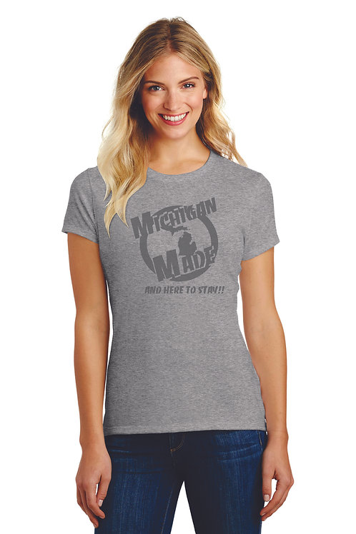 of Michigan Made Woman's T shirt