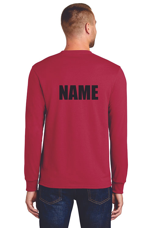 Cousino Drumline Long sleeve T with name