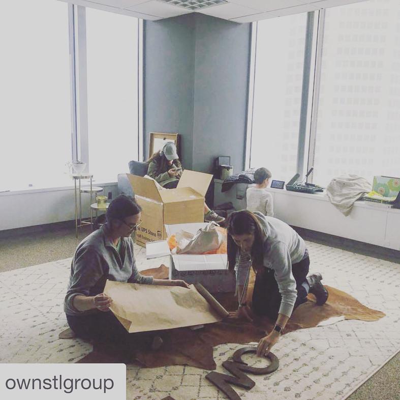 Jen&Sarah Office Transformation