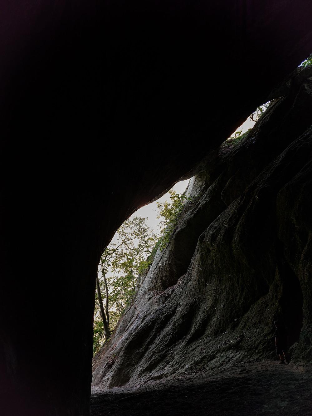 Šarkania diera Súľovské skaly