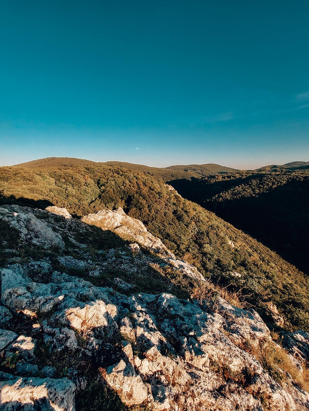 západ slnka Kršlenica Malé Karpaty