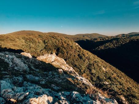 Kršlenica a Čierna skala: Vychutnaj si krásne výhľady