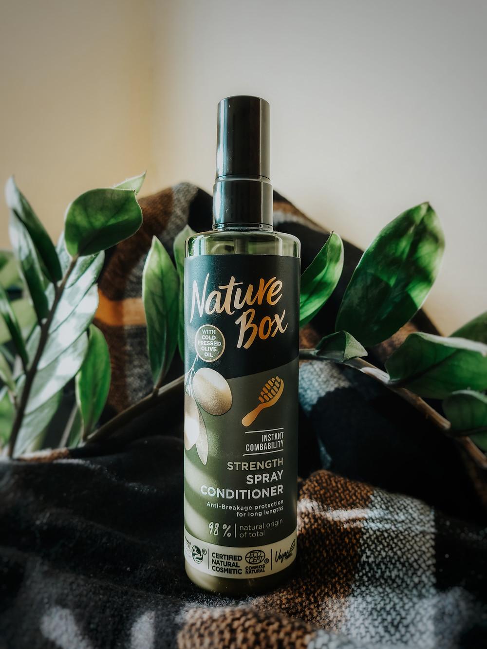 kondicionér na vlasy s olivovým olejom nature box