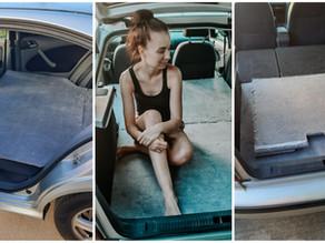 DIY posteľ v aute: S týmto návodom si ju postavíš aj ty!