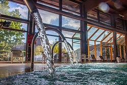 Wasser-Massage-Strahl in der Albtherme-Waldbronn