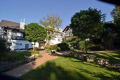 Hotel Weinhaus-Steppe Außenbereich mit Garten in Waldbronn